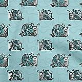 oneOone Viscosa Georgette Azul Turquesa Tela Nombre Corona Personalizada De La Mariposa Coser Labores De Artesanía Impresiones De Tejidos Por Metros 42 Pulgada De Ancho