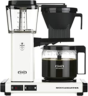 Technivorm Moccamaster 53959 KBG Coffee Brewer, 40 oz, Off-White (Renewed)