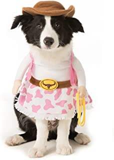 Thrills & Chills Pet Halloween Stand Up Cowgirl Pet Costume LARGE~