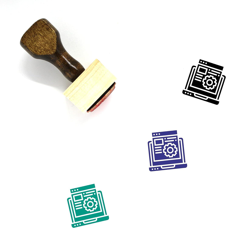 Optimisation Wooden Rubber Time sale Stamp unisex 3