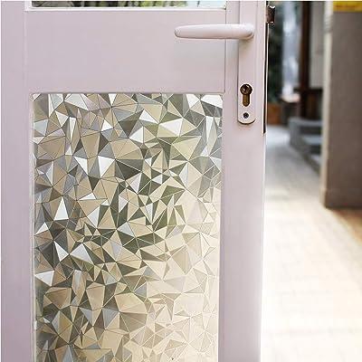 Window Film 3D Privacy Glass - Static Cling Dec...