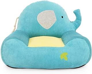 WJH Cartoon children s sofa  Mini armchair  Single sofa seat  Tatami for 1-3 year baby Removable and washable Kids Soft sofa-D 58x43cm 23x17inch
