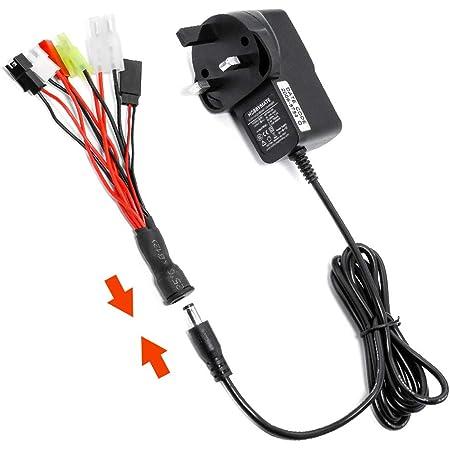 Voltz 1600mah 6.0v Battery Receiver Pack Hump vz0112 JR Plug