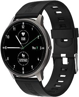Smart Watch, Fitness Tracker Watch for Men, Heart Rate Blood Oxygen IP68 Waterproof Set Sleep Record, Health Smartwatch wi...