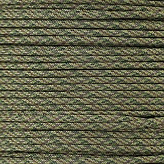 PARACORD PLANET 550 Paracord – Camo Colors – Ideal for Fishing Lines, Snares, Bracelets, Emergency and Survival Situations – Multiple Colors and Lengths Available