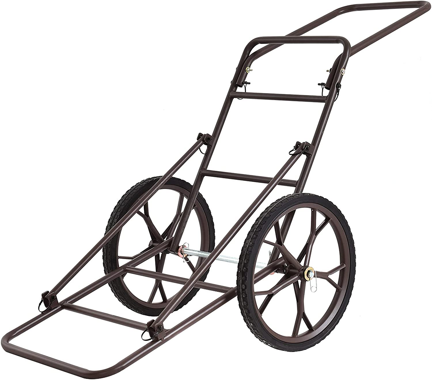 Mayjooy Large-scale sale 500lbs Limited time cheap sale Folding Deer Cart with Hauler Game 17Ã