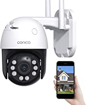 Security Camera Outdoor Conico 360° View 1080P WiFi Home...