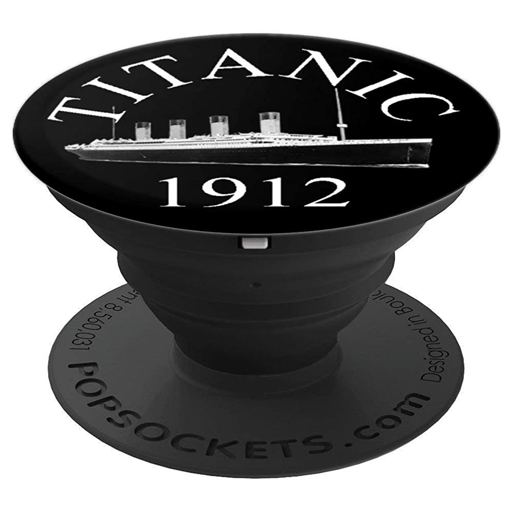 Titanic Sailing Ship Vintage Cruise Vessel 1912 - PopSockets Grip and Stand for Phones and Tablets