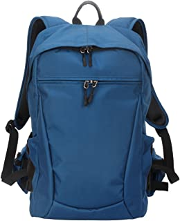 Yimidear Al Aire Libre Ocio Bolsa de Viaje Bolso del Ordenador Portátil Multifuncional DSLR SLR Mochila de Cámara Mochila de Fotográfica + Cubierta de Lluvia (Azul)