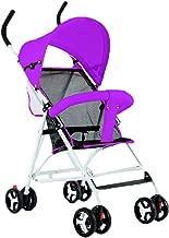 DYFAR Baby Stroller Sun Shade&Mosquito Net, Lightweight Stroller Pushchair Portable Stroller UPF 50 Extendable Hood and Rain Cover