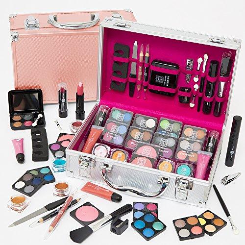 Dawn Till Dusk by Envie 54 Piece Make Up Set and Travel Makeup Organiser...