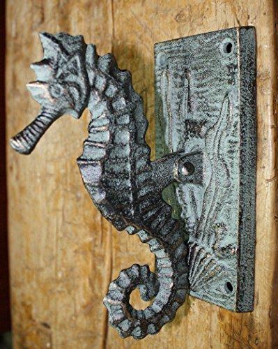 horse cast iron doorknocker - 9