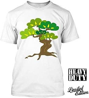 Bonsai I Love ing Japan Cute T Shirt Tee100% Cotton Summer Mens Summer Tops Tees T Shirt Funny Print T Shirts : Army Green, XXL