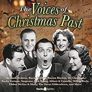 Voices of Christmas Past audiobook cover art