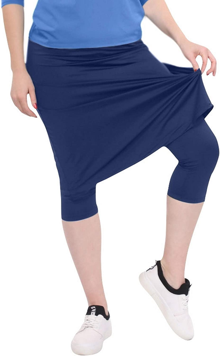 Kosher Casual Women's Knee Length Sports M with store Free shipping Leggings Skirt -