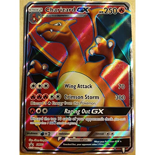 TPCI Pokémon - Charizard GX - SM60 - Inglese - Full Art - Promo - Jumbo