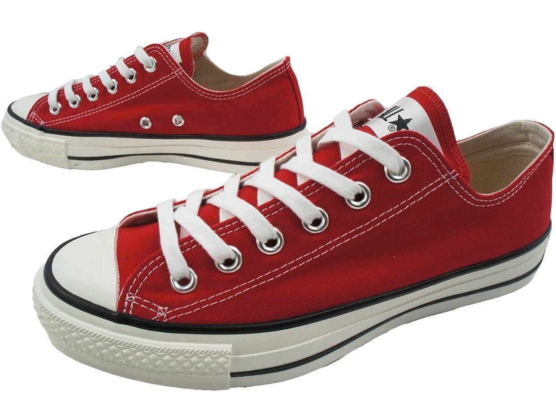 研究地域等々[コンバース] CANVAS ALL STAR J OX RED スニーカー ユニセックス