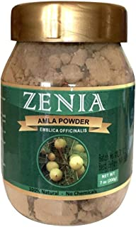 Zenia Natural Amla Powder Jar (Indian Gooseberry) Powder 200 grams
