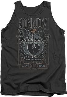 Bon Jovi Keep The Faith Unisex Adult Tank Top for Men and Women