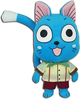 "Great Eastern Animation Fairy Tail Ge 52166 Happy Edolas Stuffed Plush, 9"""