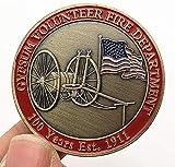 Coche Americano Bronce Verde 100 Aniversario Moneda Conmemorativa Moneda Coleccionable Coche en Relieve Moneda Artesanal Medalla Copia Regalo para él