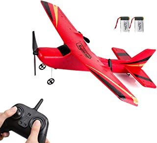YCQNGO RC Plane, Remote Control Airplane, RC Airplane, RC Plane Ready to Fly, 2.4GHz Remote Control Airplane, Easy to Fly ...