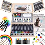 Art Supplies, 84 Piece Deluxe Art Set, Painting Supplies for Painting & Drawing, Professional Art Kits for Adults, Teens and Kids/Gifts for Girls