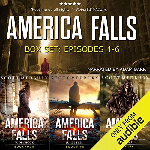 The America Falls Series: Books 4-6 cover art