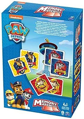 PAW PATROL 6033301 Spin Master- Tarjetas de Juego de Memoria por Spin Master