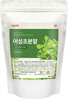 Houttuynia Cordata Powder (Origin Korea/Houttuynia cordata Thunb Powder) Natural 100% Health Tea 1 Pack 300g