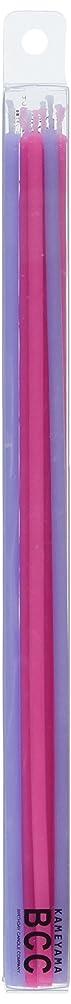 フォアマントラフメタン18cmスリムキャンドル 「 ピンク&ラベンダー 」 10本入り 10箱セット 72361833PL
