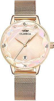 Olmeca Women's Quartz Waterproof Chronograph Fashion Watch