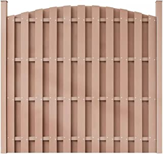 Wrea WPC Fence Panel with 2 Posts 71