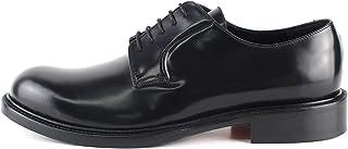 Derby Church's - Zapatos clásicos artesanales de piel abrasiva negra