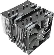 Scythe Fuma 2 120mm Air CPU Cooler, Intel LGA1151, AMD AM4/Ryzen, Twin Tower Heatsinks with 6 heatpipes, Dual PWM Fans, Black Top Cover