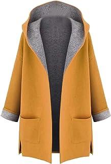 سترة نسائية من الصوف الكاجوال من SportsXX بتصميم بسيط ومفصل لفصل الخريف والشتاء