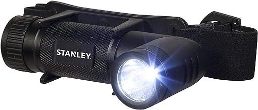 STANLEY HL2S - Hands Free 280 lumen LED-zaklamp met verstelbare hoofdband, alkalinebatterij (3 x AAA inbegrepen)