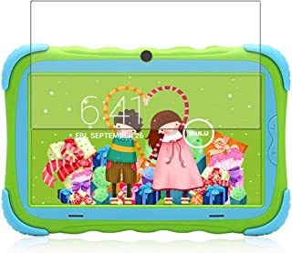 Puccy 3 Pack Screen Protector Film, compatible with Surfans Kids Tablet 7 inch Y57 TPU Guard ( Not Tempered Glass Protecto...