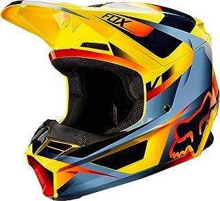 Fox Helmet V-1 Motif Yellow M
