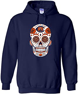 America's Finest Apparel Chicago Sugar Skull Hoodie