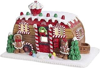 Kurt S. Adler Kurt Adler 6-Inch Gingerbread Camper House Table Piece, Multi