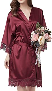 Best bridal party robes with lace Reviews