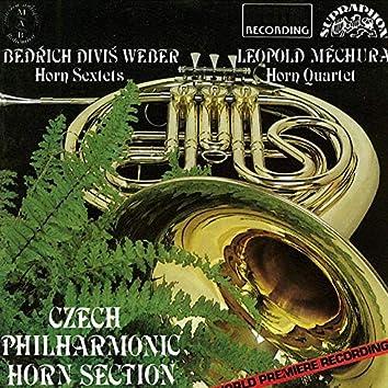 Weber, Měchura: Horn Sextets and Quartet