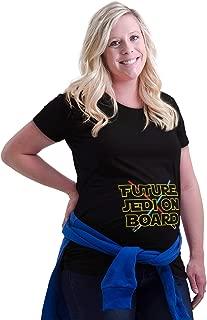 Future Child On Board Space Galaxy Maternity T Shirt
