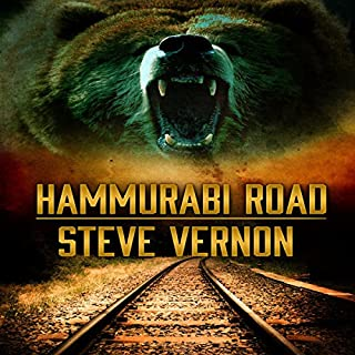 Hammurabi Road audiobook cover art