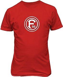 Tatuu Mens Fortuna Dusseldorf Germany Soccer Custom O Neck Tee Shirts