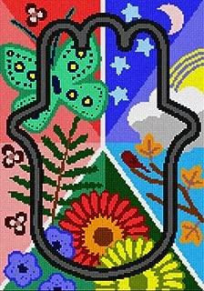 pepita Hamsa Nature (Large) Needlepoint Canvas