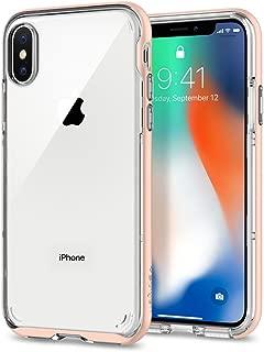 Spigen Neo Hybrid Crystal Designed for Apple iPhone X Case(2017) - Blush Gold