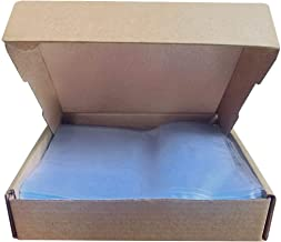 Odorless 4X6 Inch Shrink Wrap Bags 500 Pack, 78 Gauge, Clear PVC Heat Shrink Bags for Soap Bars, Bath Bombs and Small Gift...