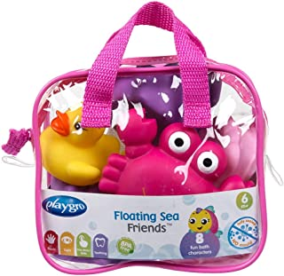 Playgro Floating Sea Friends (Pink) - Fully Sealed , Pack of 1